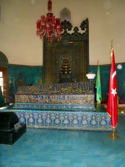 Yeşil, Osman Gazi ve Orhan Gazi Türbeleri