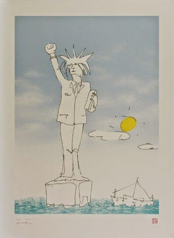 John Lennon'un unutulan ilk aşkı; çizimleri