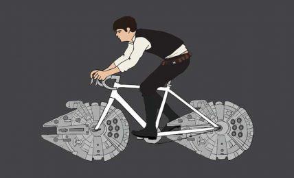 Bisiklet süren süper kahraman
