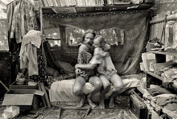 1970'lerin hippi komününe geri dönüş: Taylor Kampı