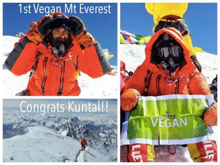 Everest Dağı'na tırmanmayı başaran ilk vegan sporcu Kuntel Joisher