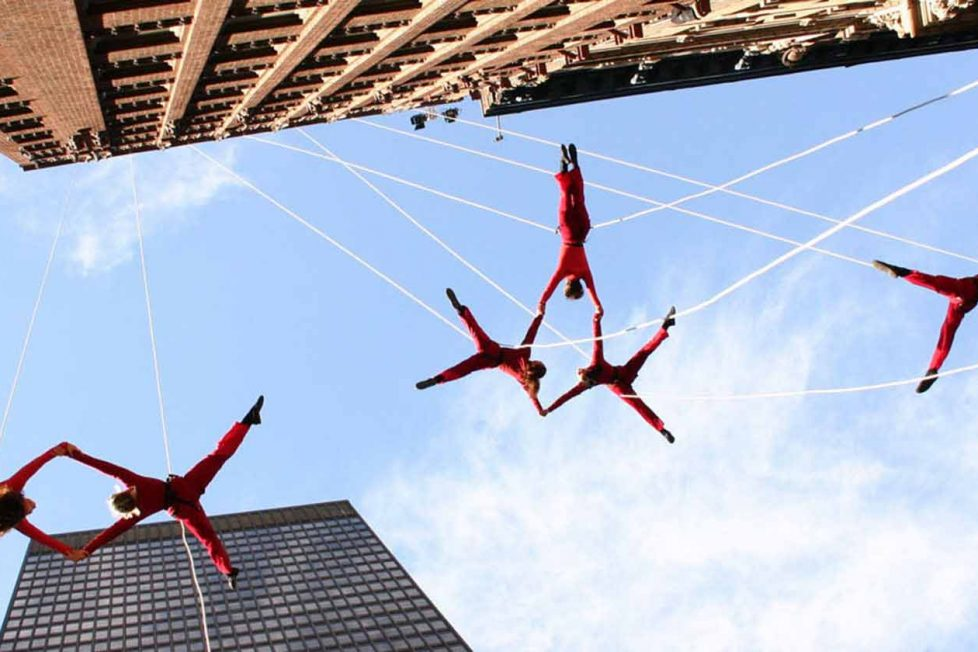 Vertical dance: Tırmanış sporunun dans ve estetik ile sunumu