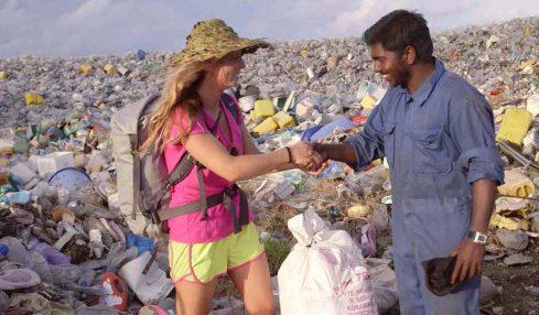 Plastik kirliliğimiz ile yaşamak zorunda kalan insan: Rajeesh