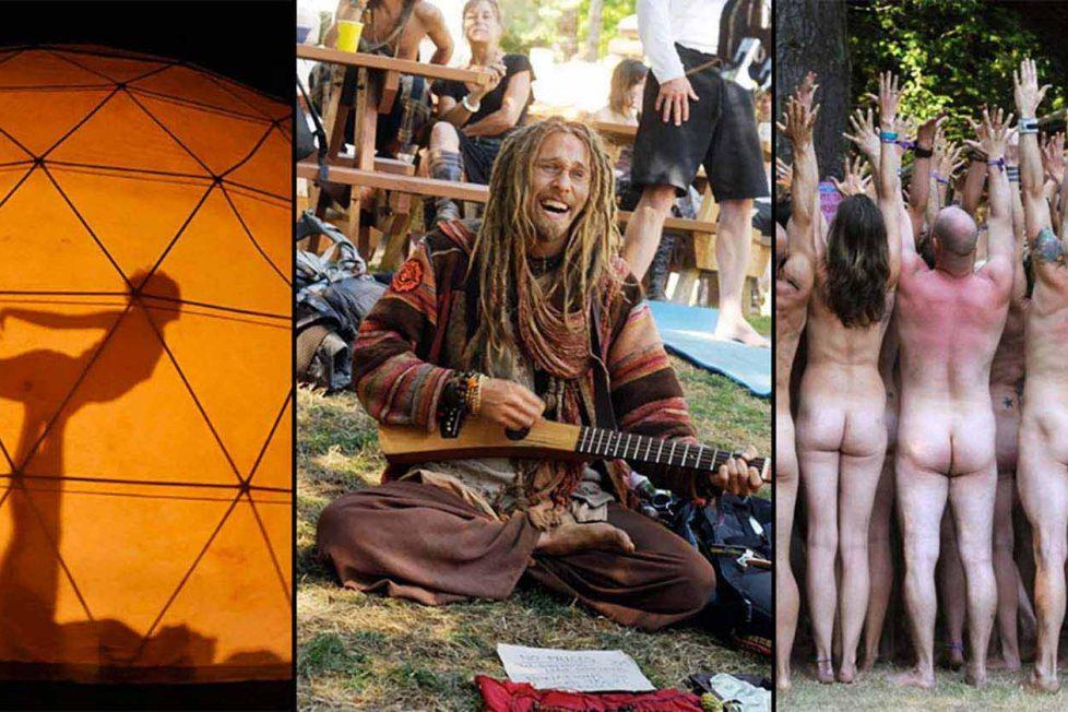 Festivalden festivale dolaşan fotoğrafçı, hippi hareketinin hâlâ yaşadığını belgeliyor