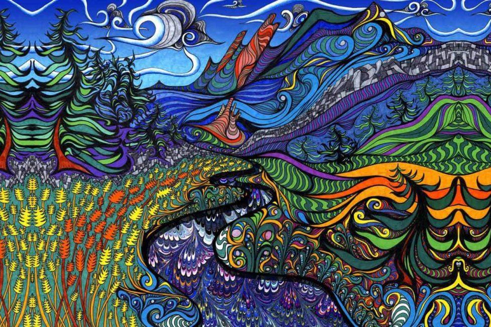 Rotanıza ekleyebileceğiniz psychedelic seyahat noktaları