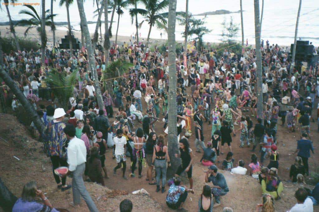 Anjuna, Goa, 1991