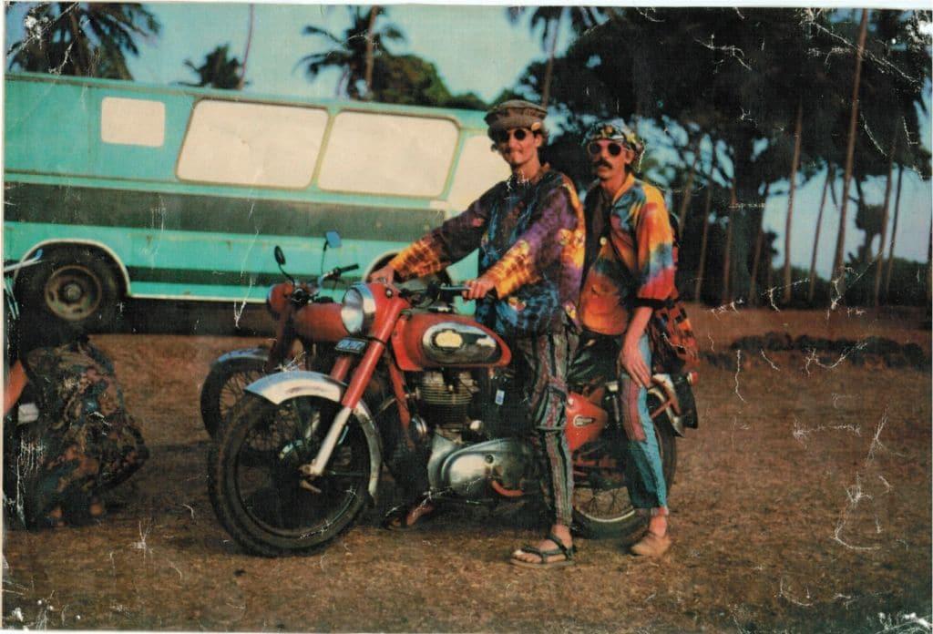 Vagator Goa 1992-93.