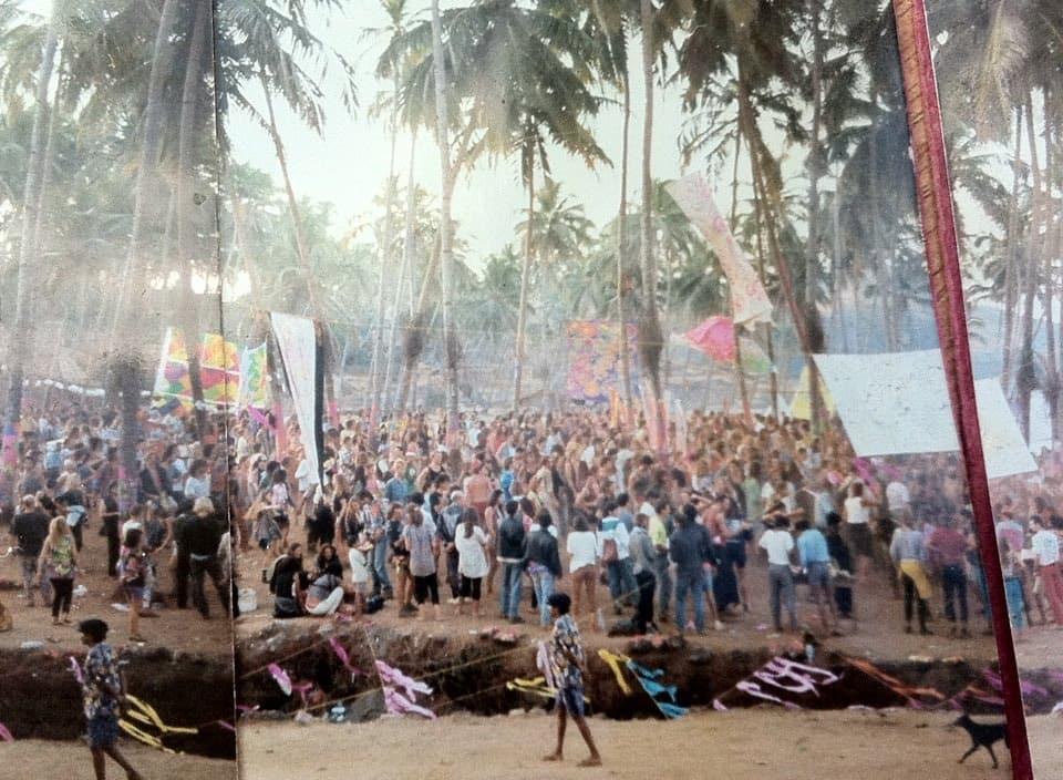 El yapımı panorama - Goa, 1992