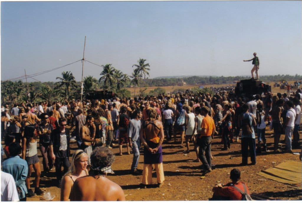 Above Spaghetti Sahili, Goa 1997