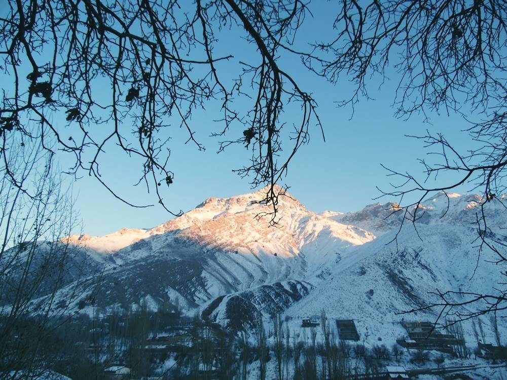 Fasham, İran, dağ