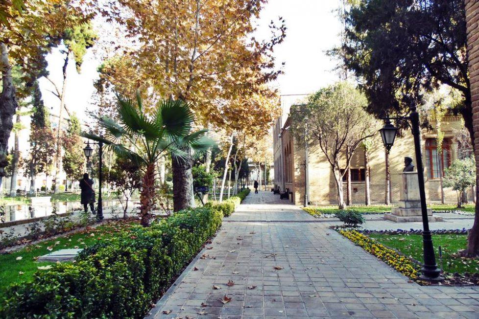 Negarestan Bahçesi, Tahran
