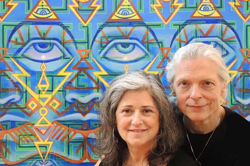 Görünmeyeni görünür kılan iki eş ruh: Alex Grey ve Allyson Grey