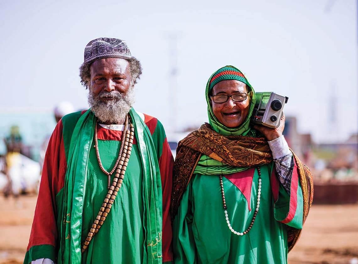 Fotoğraflar ile Sudanlı Sufilerin psychedelic dünyası