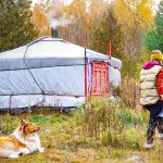 İki yıldır yurt çadırında yaşayan Beige ve minimal hayatı