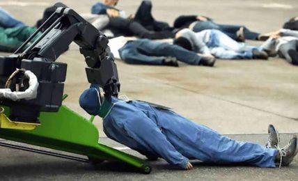 Organizma yiyerek kendi enerjisini sağlayan robot
