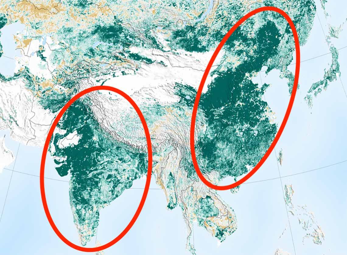 NASA, Çin ve Hindistan'a neden teşekkür ediyor?