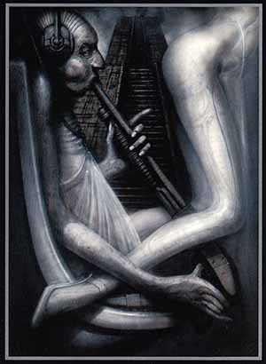 H.R. Giger - The Fool