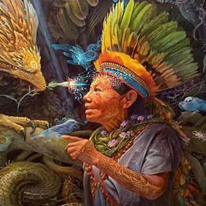 Sibiryalı Şaman kadın Alya ile kadim bilgelik üzerine söyleşi