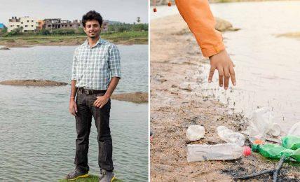 Arun Krishnamurthy işini bırakıp, bugüne kadar 93 göl ve göleti temizledi