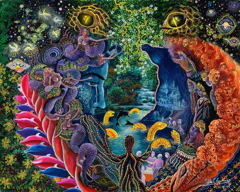 Bir şaman ve ressam olan Pablo Amaringo'nun hayatı