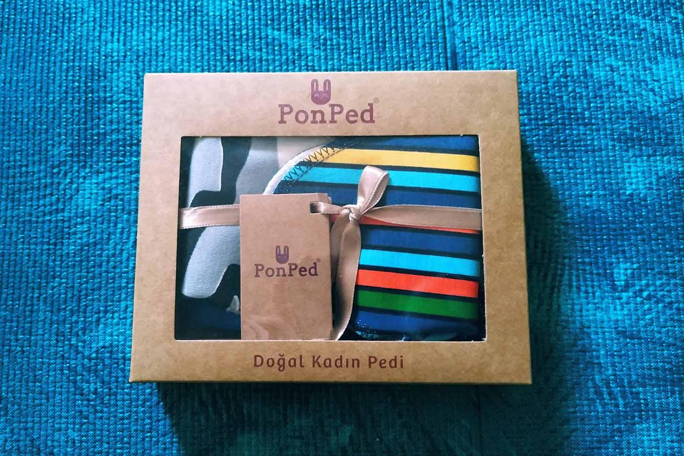 PonPed Tekrar Kullanılabilir Doğal Pedi