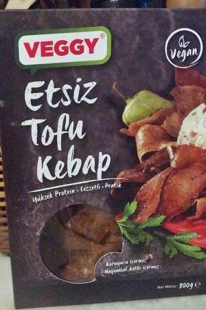 Veggy Etsiz Tofu Kebap Ürün İncelemesi