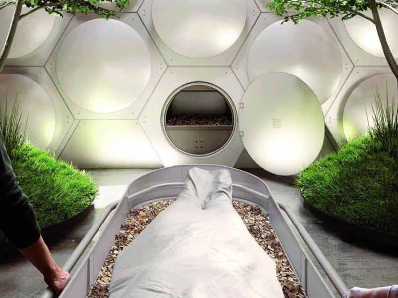 Dünyanın ilk insan kompostu tesisi 2021'de açılacak