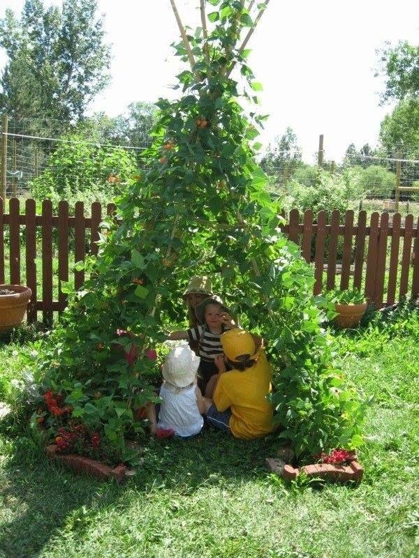 Çocuklarınıza yaşayan oyun evi inşa edin