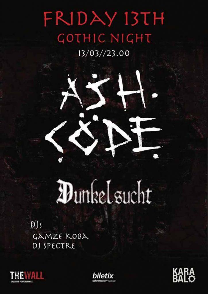 Karanlık melodileri ile İtalyan darkwave grubu Ash Code 13 Mart'ta İstanbul'da sahne alacak