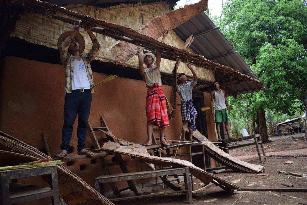 Tayland: P'yan Daung gönüllü okul projesi
