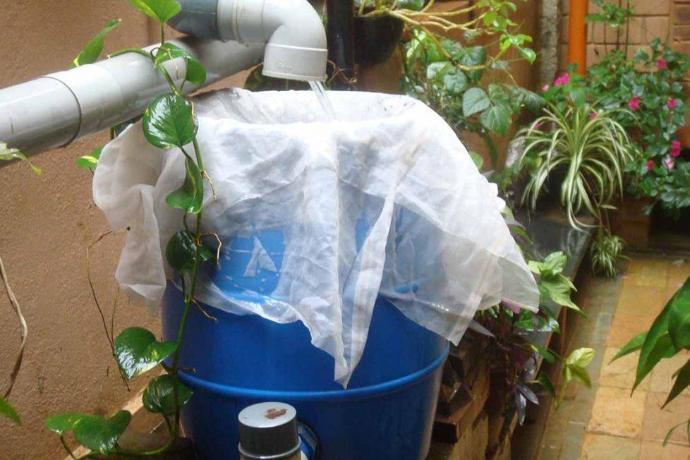 Yağmur suyu toplama 101