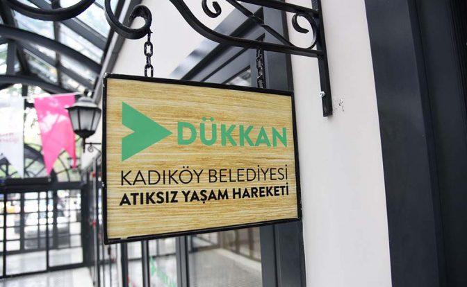 """Kadıköy Belediyesi, """"Dükkan"""" ile """"Atıksız Yaşam Hareketi""""ni başlattı"""