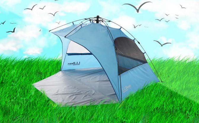Kullanımı kolay güneş barınağı, parkta ve plajda size konfor sağlayacak