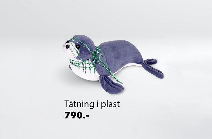 IKEA oyuncakları plastik kirlilği hakkında güçlü mesajlar veren bir kampanyaya dönüştü