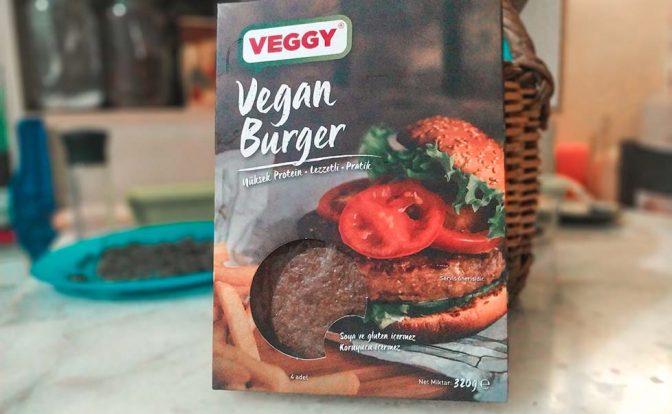 Veggy VegBurger Ürün İncelemesi