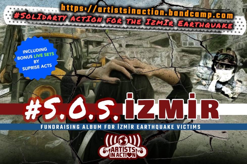 S.O.S İzmir: Artist in Action'dan İzmir depremzedeleri için
